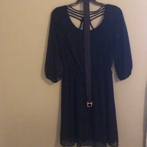 AGB Dark Blue Dress